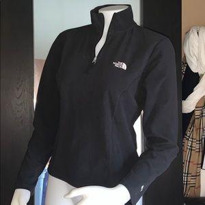 The north face  sweatshirt half zip  sz small